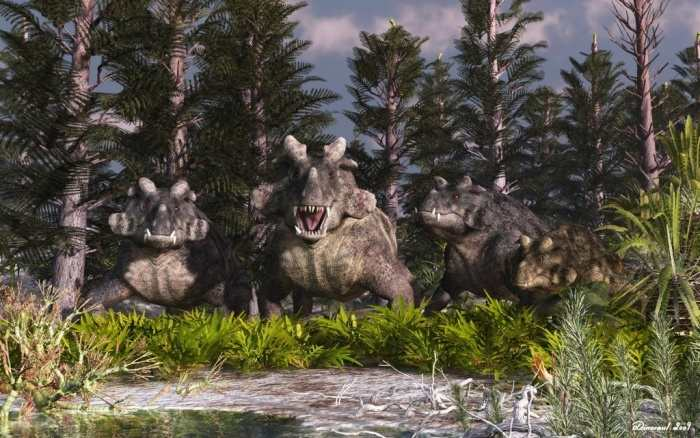 Estemmenosuchus 1 Forgotten Monsters