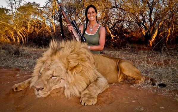 lion-hunting