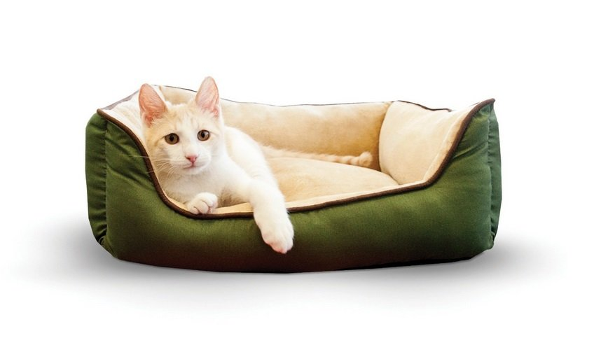Lounge Sleeper Self-Warming Pet Bed | Animals Zone