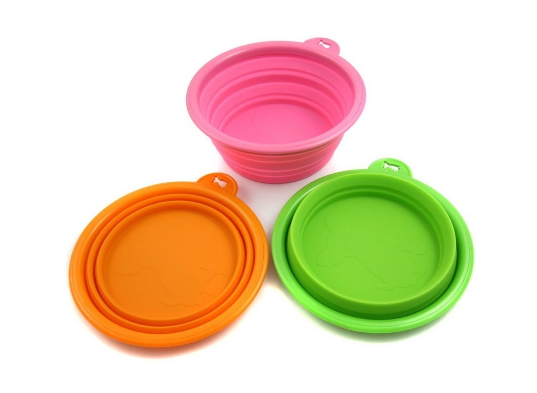 Silicone Pet Expandable/Collapsible Travel Bowl | Animals Zone