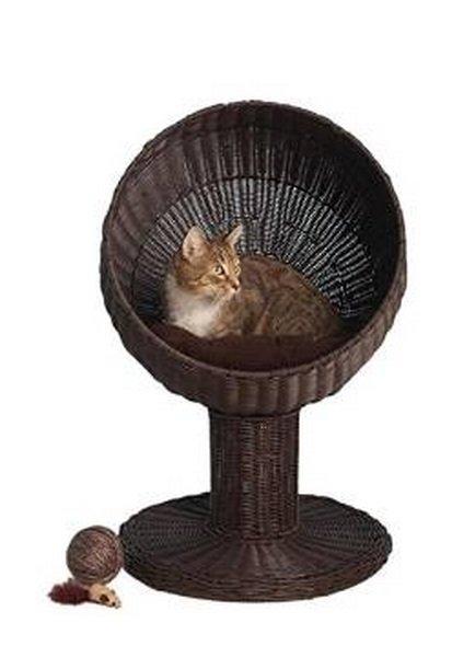 Kitty Ball Rattan Cat Bed | Animals Zone