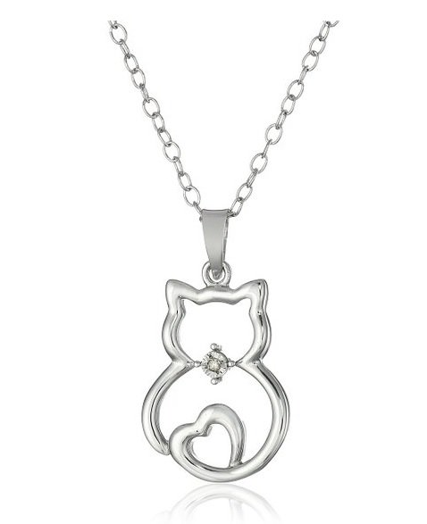 Cat Pendant Necklace | Animals Zone