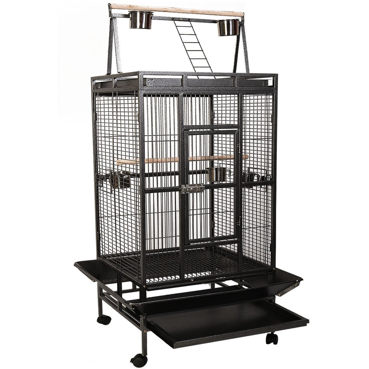 Bird Cage Large Play Top Parrot Finch Cage | Animals Zone