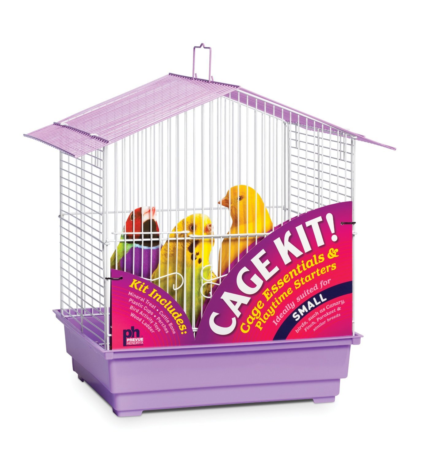 Prevue Hendryx House Style Roof Bird Cage Kit | Animals Zone