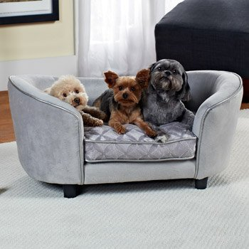 Holiday Gift Guide: Enchanted Home Pet Quicksilver Sofa Dog Bed | Animals Zone