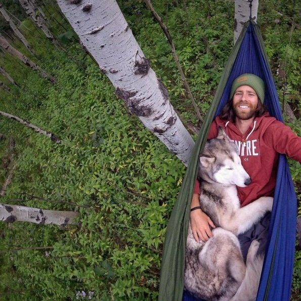 Loki, the wolfdog, and his owner Kelly Lund are now famous on the Internet for their stunning Instagram photos that feature the pair traveling the world together. Click to read the full story | Animals Zone