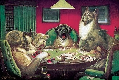 Dogs Playing Poker | Animals Zone