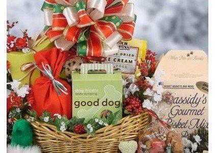 Spoiled Dog Christmas Gift Basket
