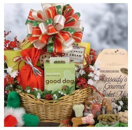 Spoiled Dog Christmas Gift Basket