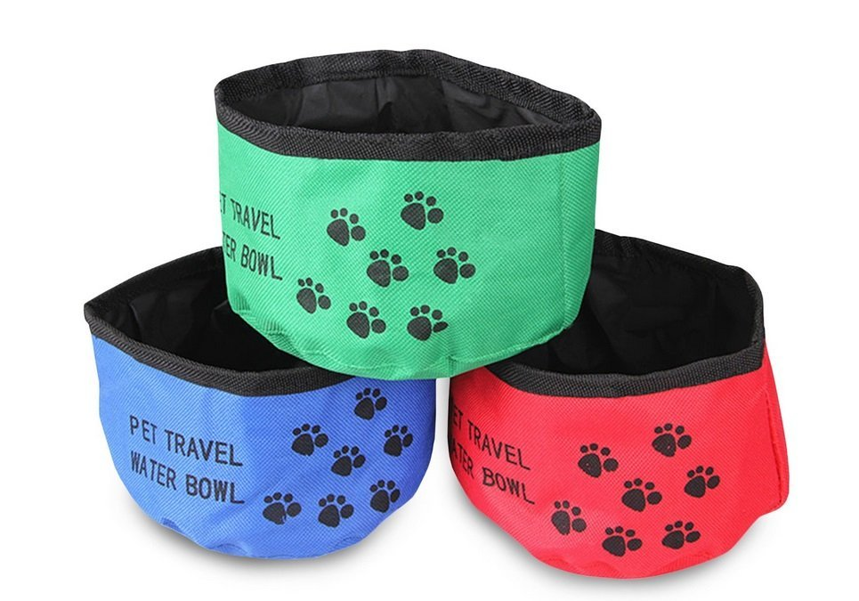Portable & Collapsible Dog Water Bowl | Animals Zone