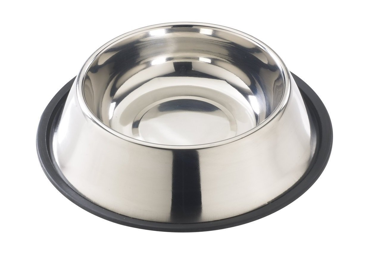 No-Tip Stainless Dish | Animals Zone