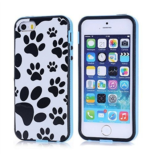 Bumper Bezel Frame Cover Case - Puppy Dog Paws | Animals Zone