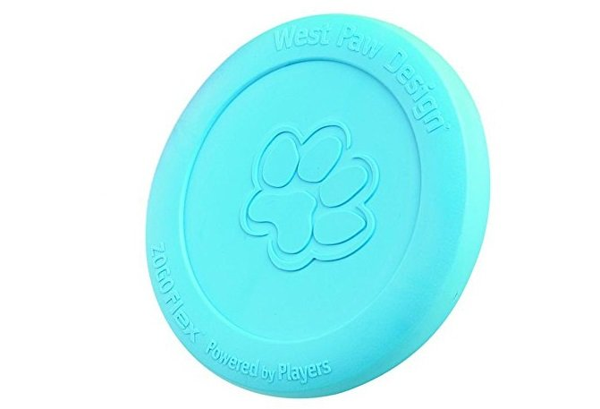 Frisbee made of flexible rubber and designed for dogs | Animals Zone