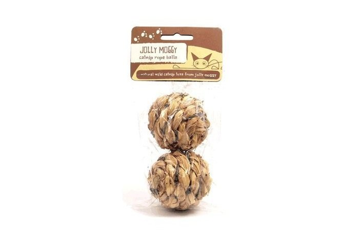 Holiday Gift Guide: Rosewood Jolly Moggy Wild Catnip Toy Rope Balls | Animals Zone