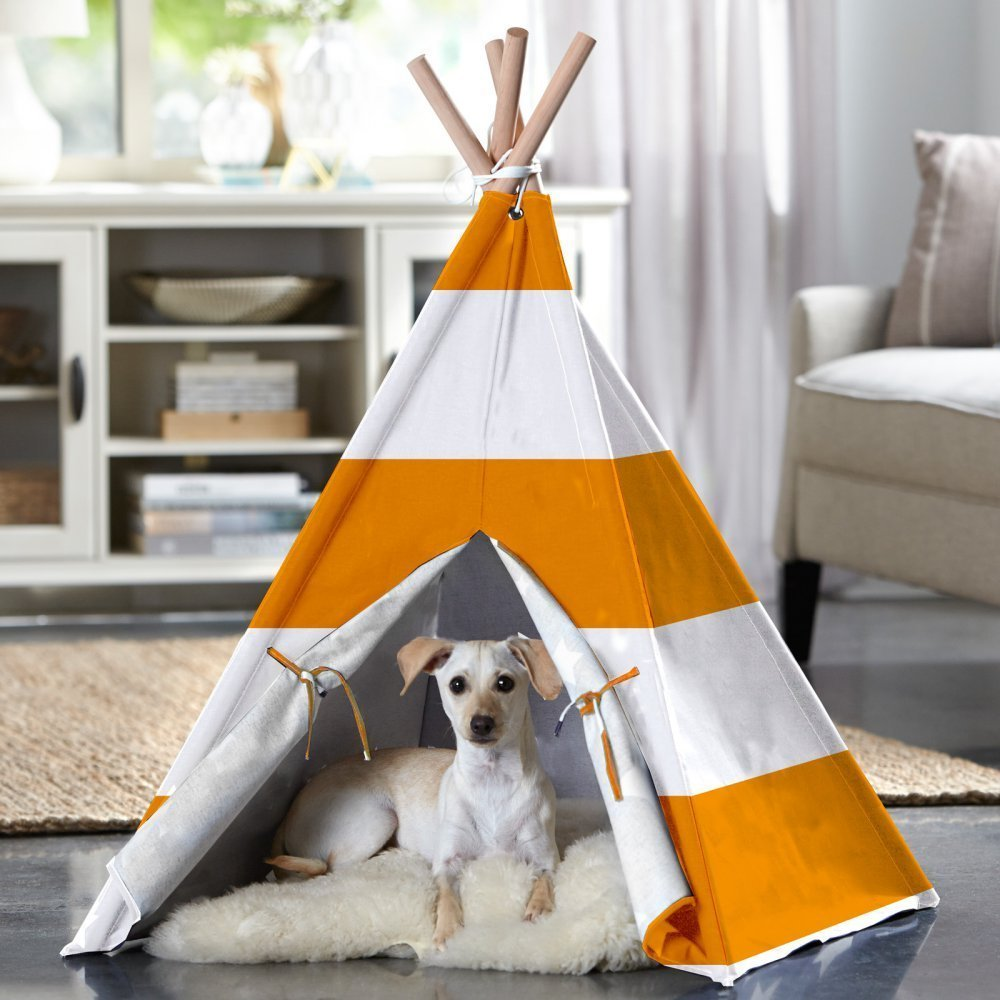 Holiday Gift Guide: Striped Pet Teepee | Animals Zone