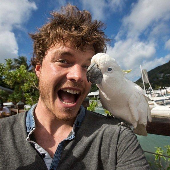 Amazing selfies with animals! | Animals Zone